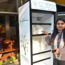 Restaurant Owner Installs Fridge Outside to Feed The Homeless