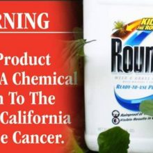 Monsanto, Farm Groups Sue State of California Over Upcoming Glyphosate Cancer Warning